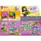 LEGO Mia's Play Cube - Cinema Set 41408 Instructions