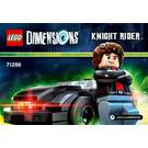 LEGO Michael Knight Set 71286 Instructions