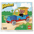 LEGO Michael Mouse and his New Car Set 328-1 Instructions