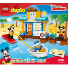 LEGO Mickey & Friends Beach House Set 10827 Instructions