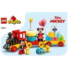 LEGO Mickey & Minnie Birthday Train Set 10941 Instructions