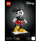 LEGO Mickey Mouse and Minnie Mouse Set 43179 Instructions