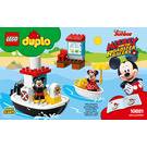 LEGO Mickey's Boat Set 10881 Instructions