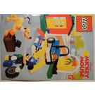 LEGO Mickey's Car Garage Set 4166 Instructions