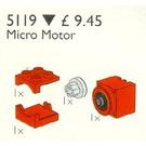 LEGO Micro Motor 9 V Set 5119