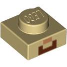 LEGO Micro Steve Plate 1 x 1 (12969 / 18952)