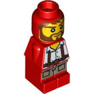 LEGO Microfig Ramses Return Adventurer Red