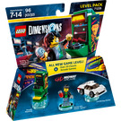 LEGO Midway Arcade Level Pack Set 71235 Packaging