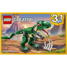 LEGO Mighty Dinosaurs Set 31058 Instructions