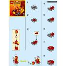 LEGO Mighty Micros: Iron Man vs. Thanos Set 76072 Instructions