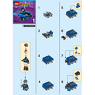 LEGO Mighty Micros: Nightwing vs. The Joker Set 76093 Instructions