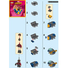 LEGO Mighty Micros: Star-Lord vs. Nebula Set 76090 Instructions