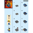 LEGO Mighty Micros: Wolverine vs. Magneto Set 76073 Instructions
