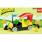 LEGO Mike Monkey and his Taxi Set 3644