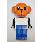 LEGO Mike Monkey Fabuland Figure