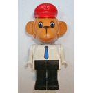 LEGO Mike Monkey with Red Hat Fabuland Figure