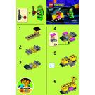 LEGO Mikey's Mini-Shellraiser Set 30271 Instructions