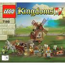 LEGO Mill Village Raid Set 7189 Instructions