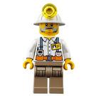 LEGO Mine Chief Minifigure