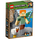LEGO Minecraft Alex BigFig with Chicken Set 21149 Packaging
