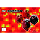 LEGO Minecraft Micro World: The Nether Set 21106 Instructions