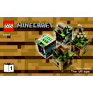 LEGO Minecraft Micro World: The Village Set 21105 Instructions