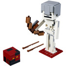LEGO Minecraft Skeleton BigFig with Magma Cube Set 21150