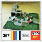 LEGO Mini Airport and Vehicle Set 367-2
