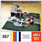LEGO Mini Airport and Vehicle Set 367-2 Instructions
