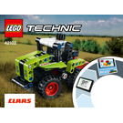 LEGO Mini CLAAS XERION Set 42102 Instructions