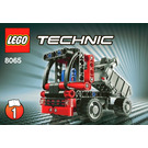 LEGO Mini Container Truck Set 8065 Instructions