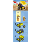 LEGO Mini Dump Truck Set 6470 Instructions