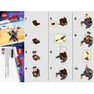 LEGO Mini Master-Building MetalBeard Set 30528 Instructions