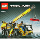 LEGO Mini Mobile Crane Set 8067 Instructions