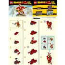 LEGO Mini Monkey King Warrior Mech Set 30344 Instructions