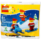 LEGO Mini Santa Set 40022 Packaging