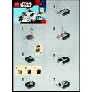 LEGO Mini Snowspeeder Set 8029 Instructions