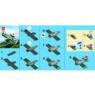 LEGO Mini Sopwith Camel Set 40049 Instructions