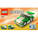 LEGO Mini Sports Car Set 6910 Instructions