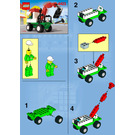 LEGO Mini Tow Truck Set 6423 Instructions