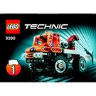 LEGO Mini Tow Truck Set 9390 Instructions