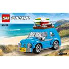 LEGO Mini Volkswagen Beetle Set 40252 Instructions