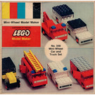 LEGO Mini-Wheel Car and Truck Set 348-2