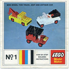 LEGO Mini-Wheel Model Maker No. 1 (Kraft Velveeta) Set 1-10