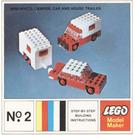 LEGO Mini-Wheel Model Maker No. 2 (Kraft Velveeta) Set 2-10