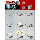 LEGO Mini X-wing Set 30051 Instructions