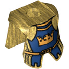 LEGO Minifig Armour Plate with Decoration (59886)