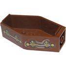 LEGO Minifig Coffin mit Aufkleber from Set 1381 (30163)