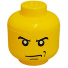 LEGO Minifig Head Storage Container Small - Male Scowling (40310107)