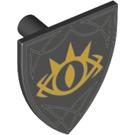 LEGO Minifig Shield Triangular with Decoration (3846 / 31835)